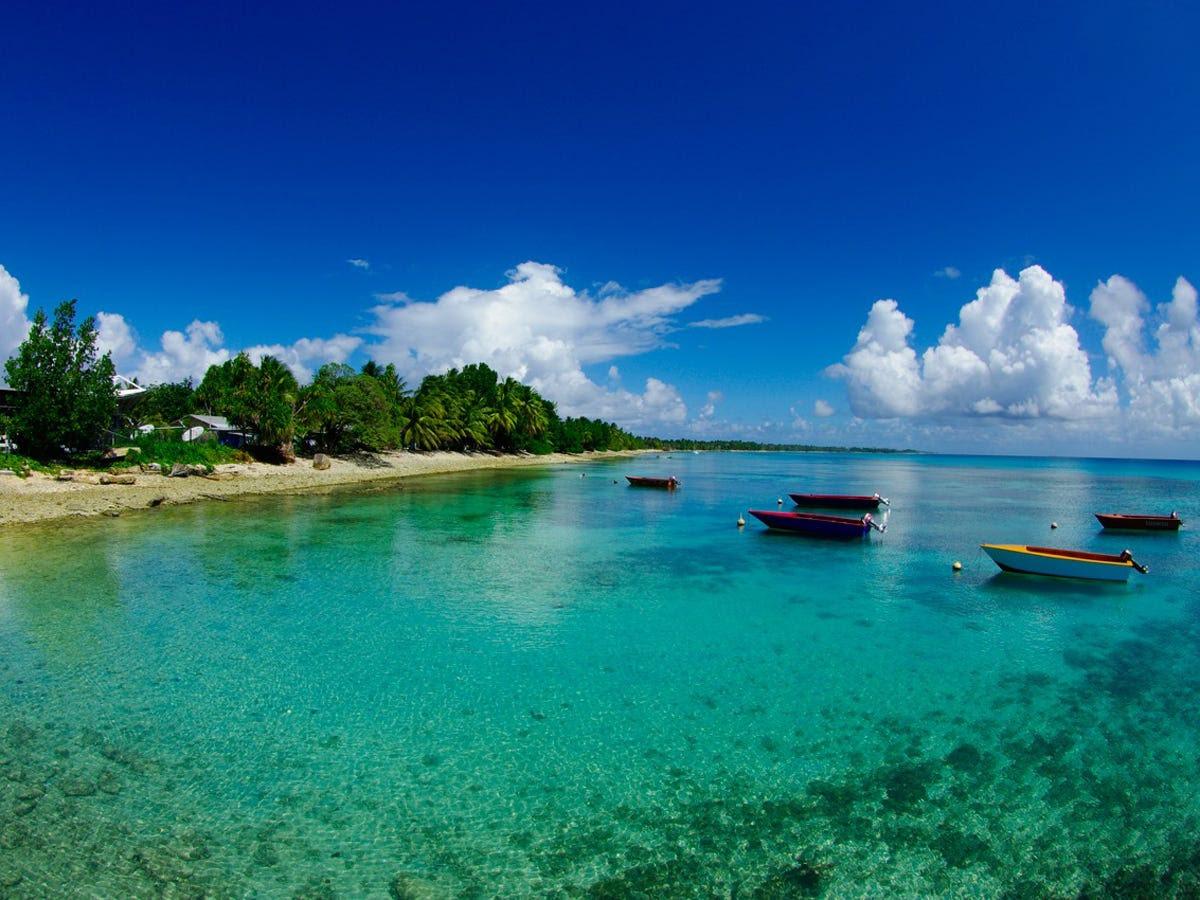 3. Tuvalu: 1,200 tourists