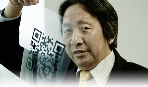 Masahiro Hara, of DENSO Wave, Incorporated, led the QR Code development team that won the 2014 Europ ...