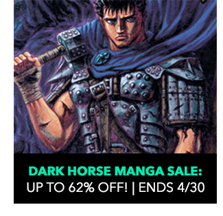 Dark Horse Manga Sale: up to 62% off! Sale ends 4/30.