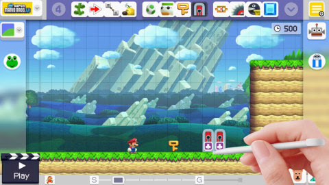 Today, a software update to the Super Mario Maker game for the Wii U console adds some additional it ...