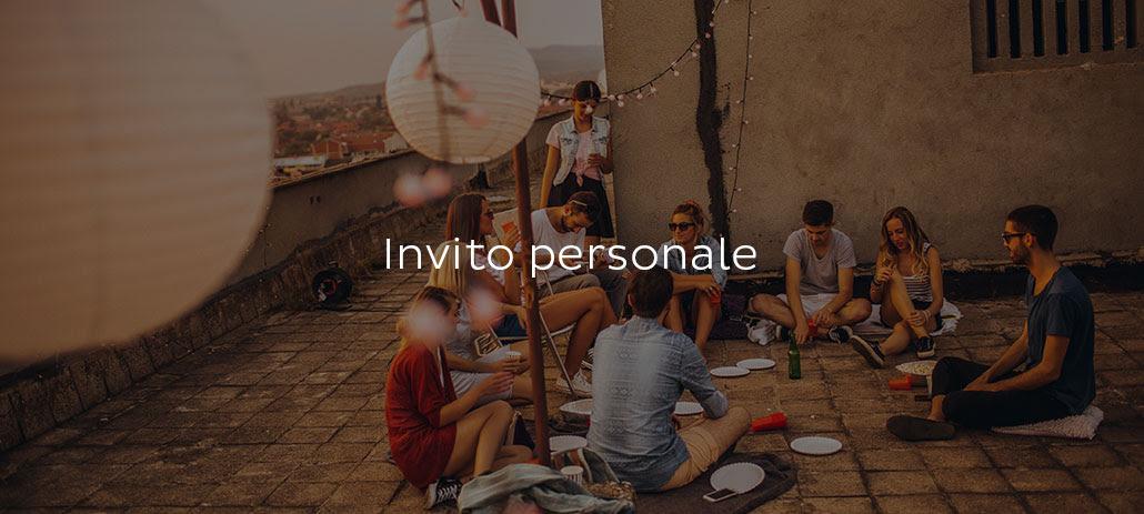 Invito personale
