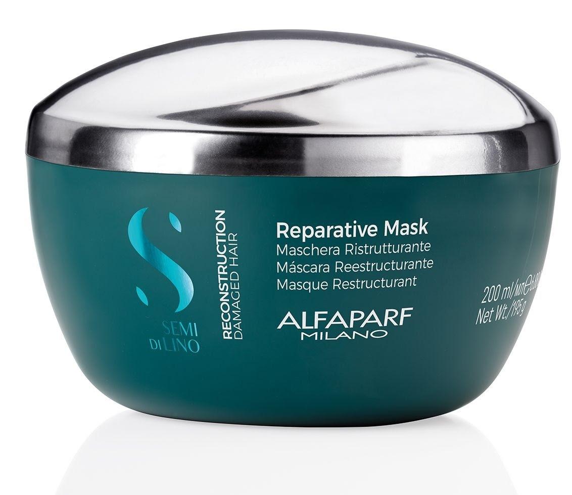 Reparative Mask Semi Di Lino Milano