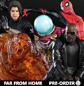 Spider-Man: Far From Home Battle Diorama Series