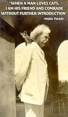 mark twain cat