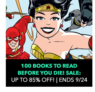 100 Books to Read Before You Die! Sale: up to 85% off! Sale ends 9/24.