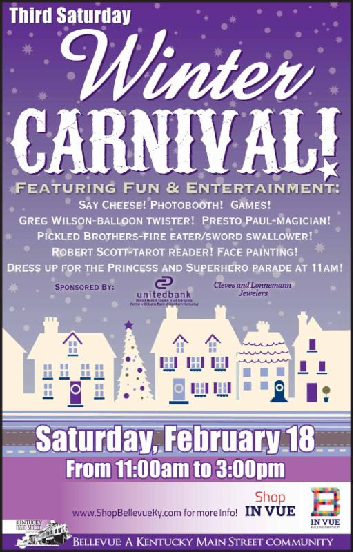 Calling All Kids - Winter Carnival this Saturday!