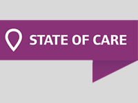 State of Care logo (grey background)
