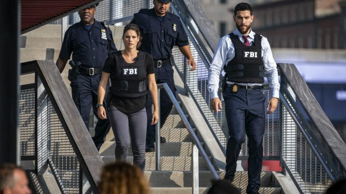 Promotion photo for FBI TV show