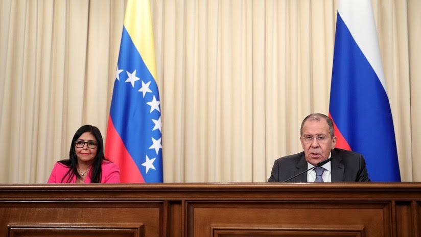 Delcy Rodríguez y Serguéi Lavrov conversan sobre Venezuela: 10 claves de su reunión en Moscú