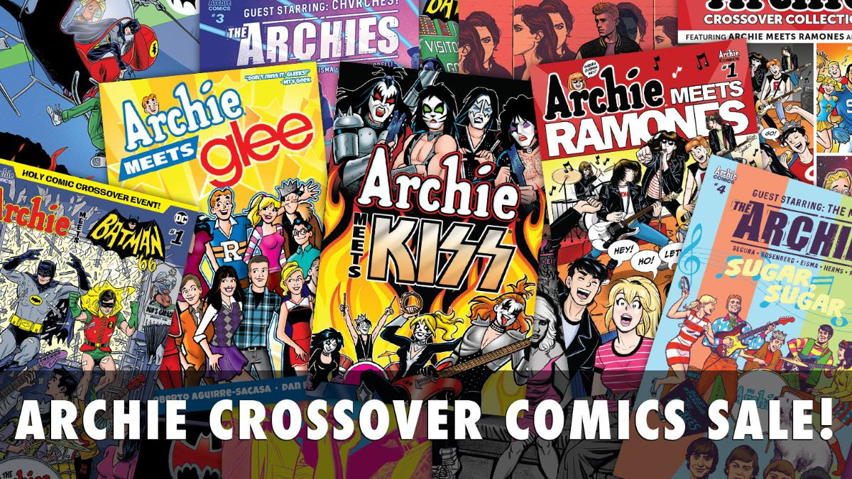 Crossover Comics Sale!