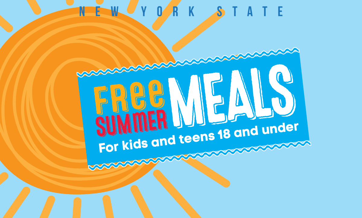 Free Summer Meals for kids and teens 18 and under