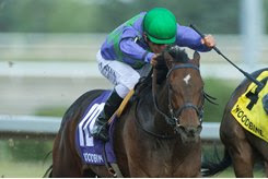 Gamble's Ghost wins the Trillium Stakes at Woodbine
