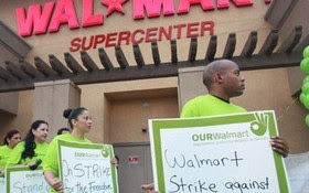 PHOTO: Walmart employees plan to strike in Florida this week, and elsewhere across the country, to protest what they say are poor working conditions and low wages. Photo courtesy of United Food and Commercial Workers.