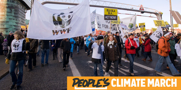 WWF march for climate change