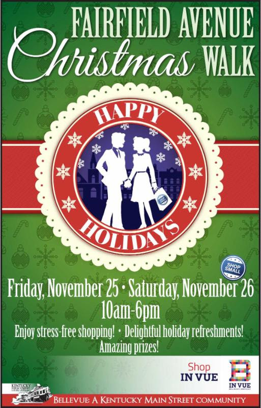 Bellevue's Christmas Walk Friday and Saturday!