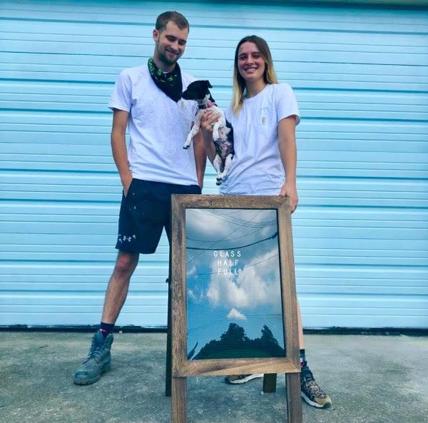 Franziska Trautmann y Max Steitz. Foto glasshalffullnola.org