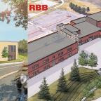 artist rendering of school exterior