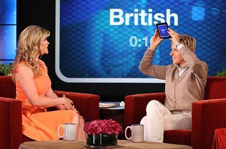 Heads Up was originally a guessing game segment of Ellen DeGeneres' talkshow