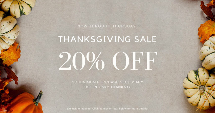 Thanksgiving Sale Beauty Trends