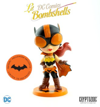 Cryptozoic Entertainment at New York Comic Con 2018 Halloween Batgirl (DC Lil Bombshells)