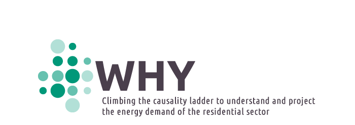 WHY - Climbing the causality ladder to understand and project the energy demand of the residential sector