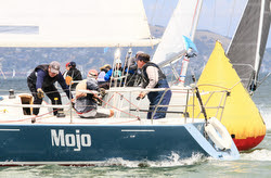 J/105 MOJO sailing San Francisco Bay
