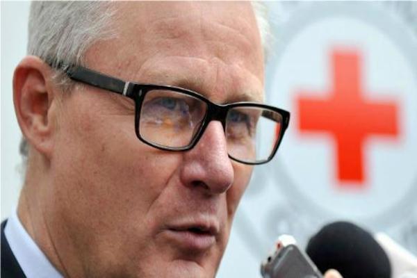 Christoph Harnisch, jefe de la delegación del Comité Internacional de la Cruz Roja en Colombia