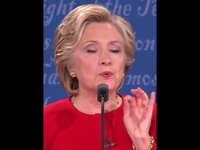 People Are Claiming Hillary Wore A Earpiece/Anti-Coughing Device Last Night Sddefault