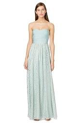 ERIN erin fetherston Mint Mosaic  Maxi Dress