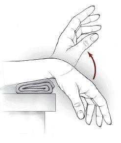 Gjimnastika e duarve - ushtrimi 1