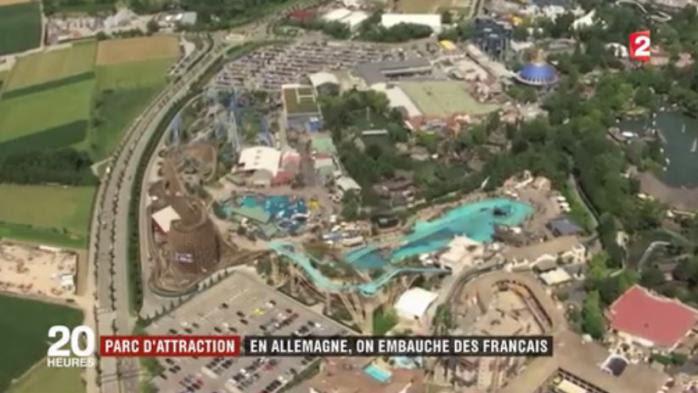 Parc d'attractions : en Allemagne, on embauche des Français