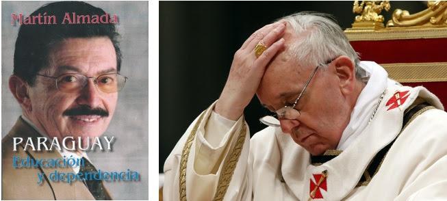 Martin Almada-papa Francisco