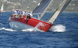 J/39 sailing Antigua Sailing Week