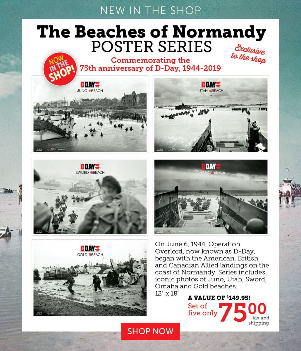 The Beaches of Normandy - Set of Five