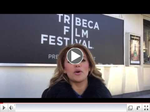 CANTAUTORA ADRIANA LUCIA AGRADECE DESDE NEW YORK POR PREMIO DEL FESTIVAL DEL CINE