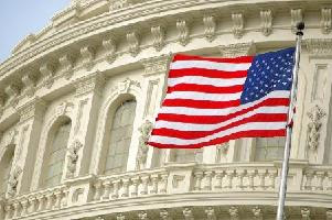 Capitol American Flag