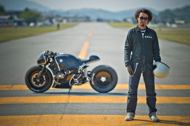 Custom motorcycle builder Kaichiro Kurosu of Cherry's Company