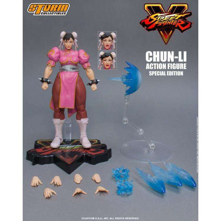 Image of Street Fighter V - Chun-Li (Special Edition) 1/12 Scale Figure
