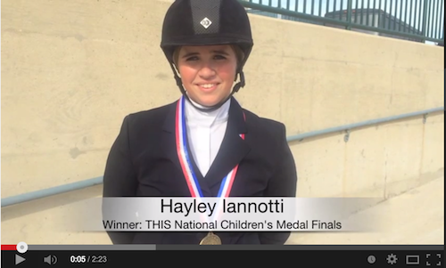 Watch an interview with Hayley Iannotti!