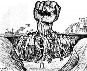 मज़दूरों ने अपने अनुभवों से समझ लिया था कि उनकी एकता ही उनकी सबसे बड़ी ताक़त है।