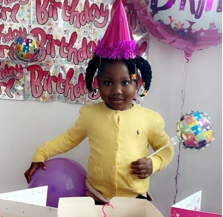 Comedian Seyi Law celebrates his daughter