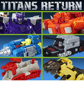 NEW TRANSFORMERS GENERATIONS TITANS RETURN ARRIVALS