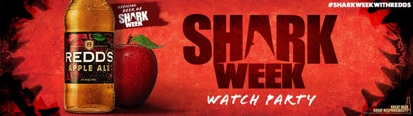 REDD'S® Apple Ale Shark Week Watch Party House Party