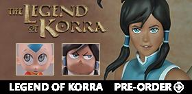 THE LEGEND OF KORRA FIGURES
