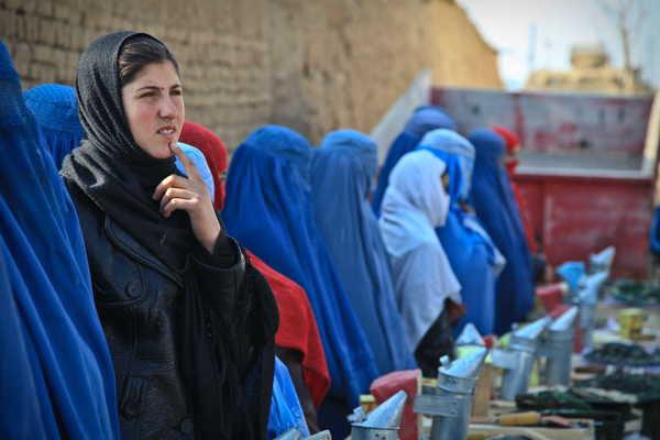 Femme afghane - Source pxfuel