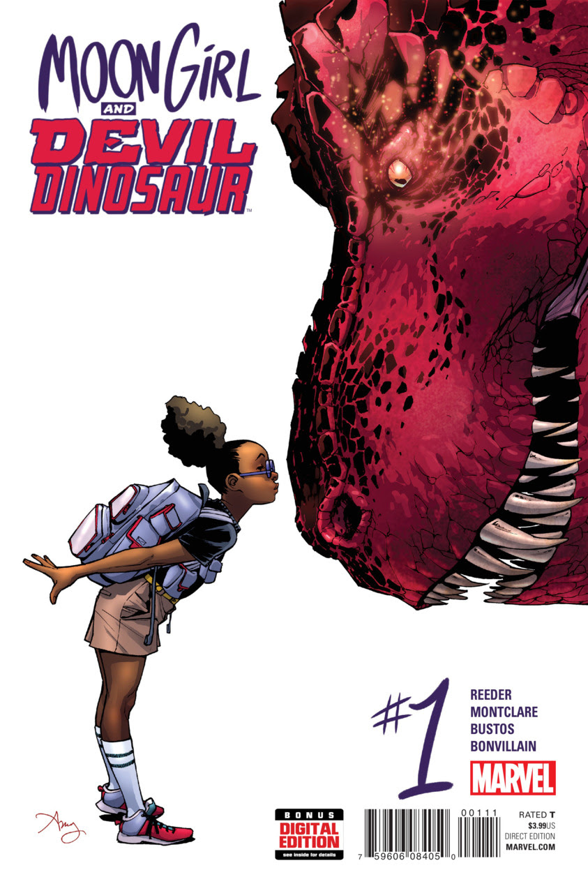 Moon Girl and Devil Dinosaur by Amy Reeder