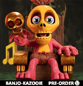 Banjo-Kazooie Mumbo Jumbo Statue