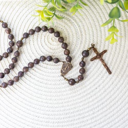 Bronzite St. Benedict Rosary