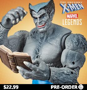 The Uncanny X-Men Marvel Legends Retro Collection Beast
