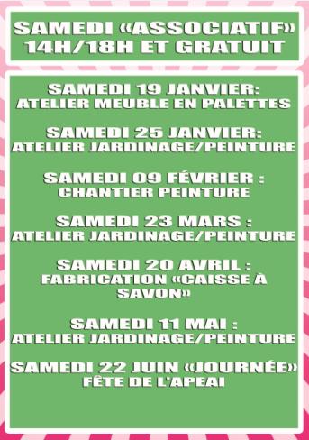 "fly des samedis ""associatifs"""